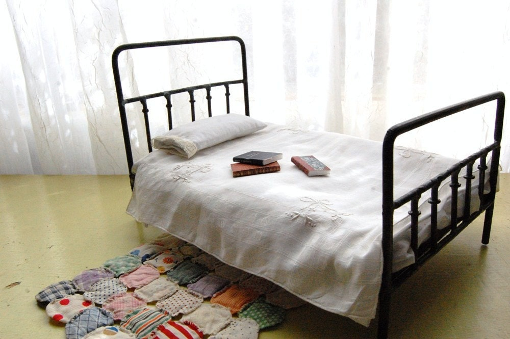 Victorian StyleThe Story of a Seamstress  Miniature Antique Style Beds. Antique Style Bedroom Chairs. Home Design Ideas