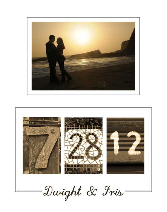 Wall Art With Wedding Date : Personalized wedding date printable wall art diy by