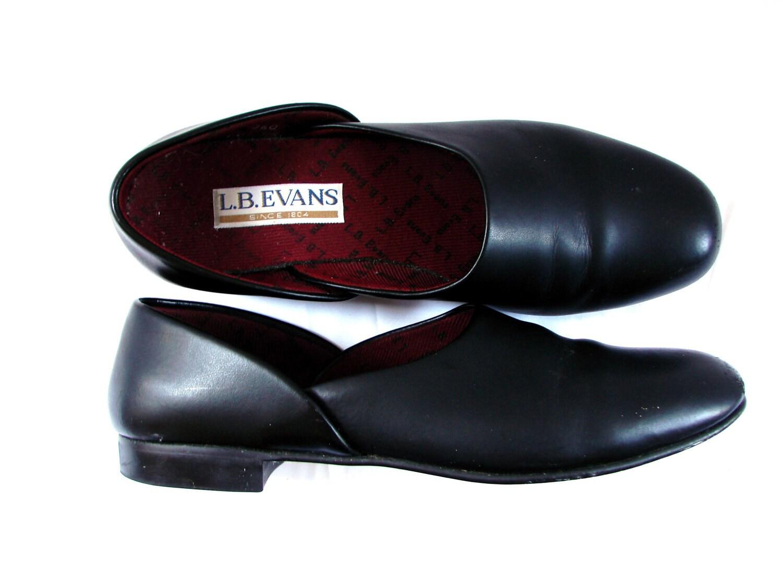 mens slippers / vintage 90s Retro Mens Black by ...