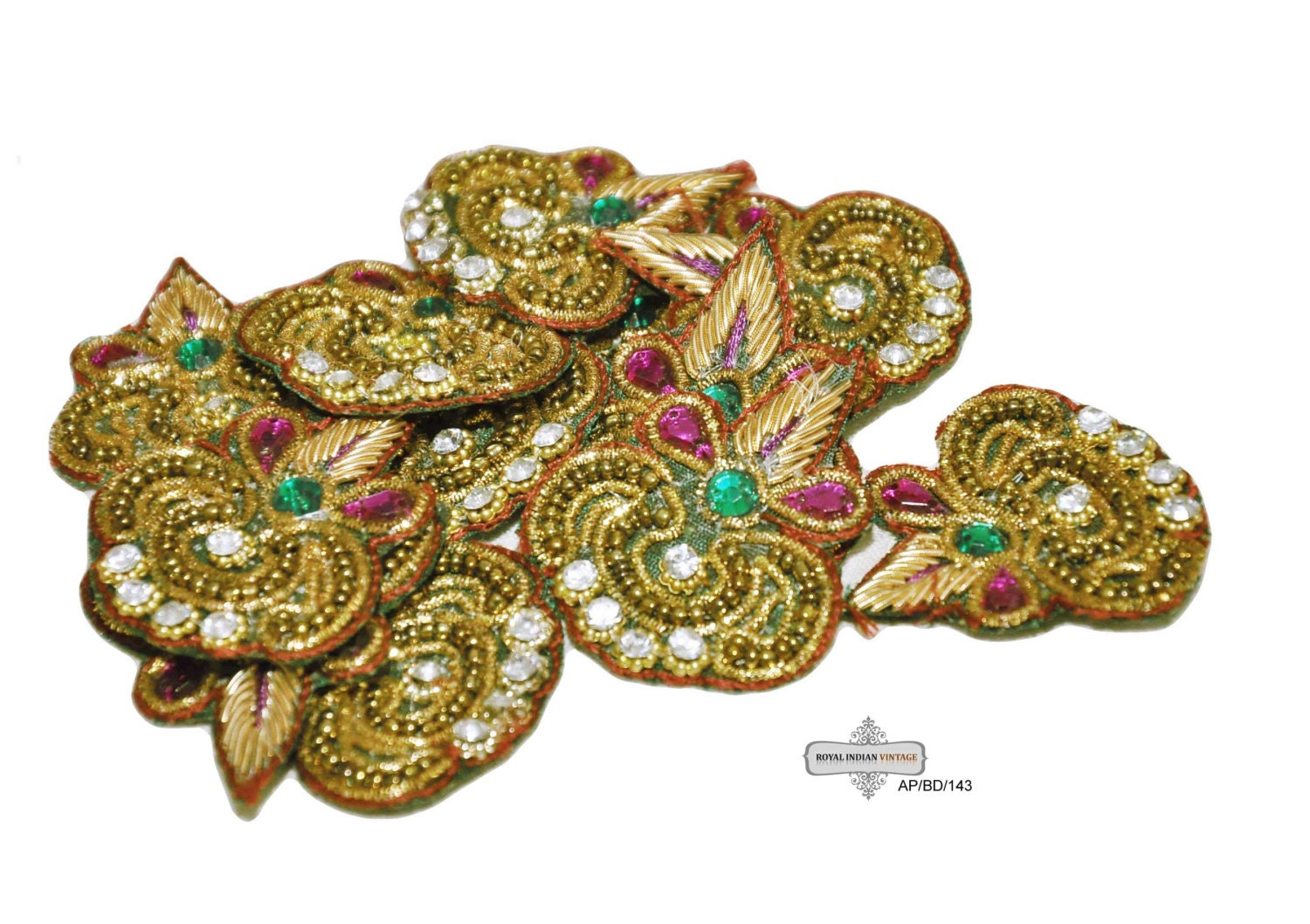 Items similar to sale beaded appliques sewing fabric for Sewing fabric for sale
