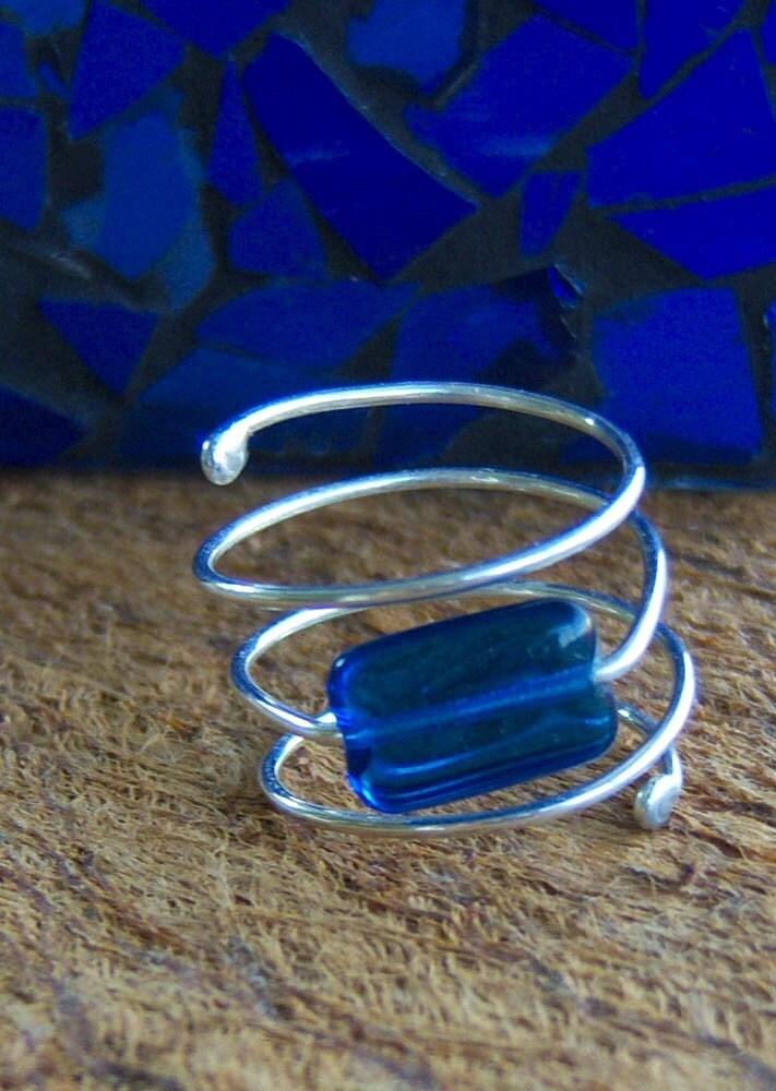 Sterling Silver Spiral