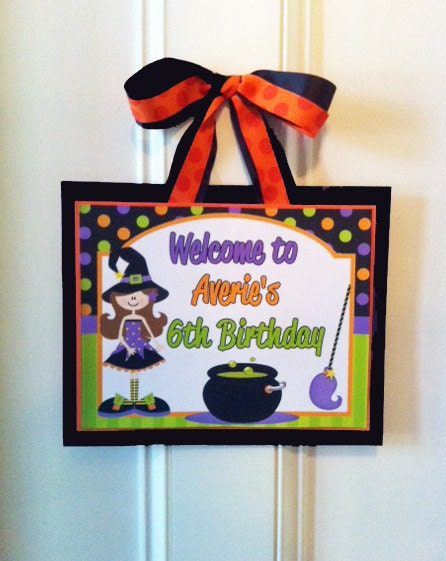 Decorating Ideas > Items Similar To Halloween Party Door Sign Printable  ~ 045651_Halloween Door Signs Printable