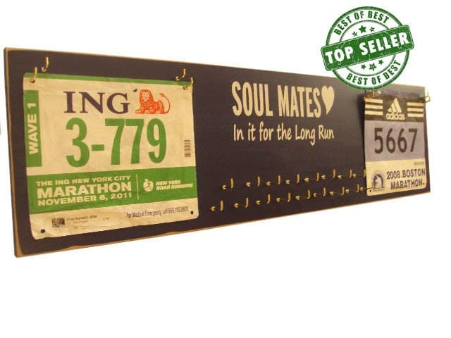 Wedding Gifts For Runners : wedding gift for running couplemedals holderrace bibs and medals ...