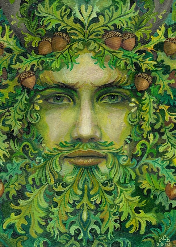Pagan summer solstice yoktravels oak king pagan summer solstice 5x7 greeting card m4hsunfo