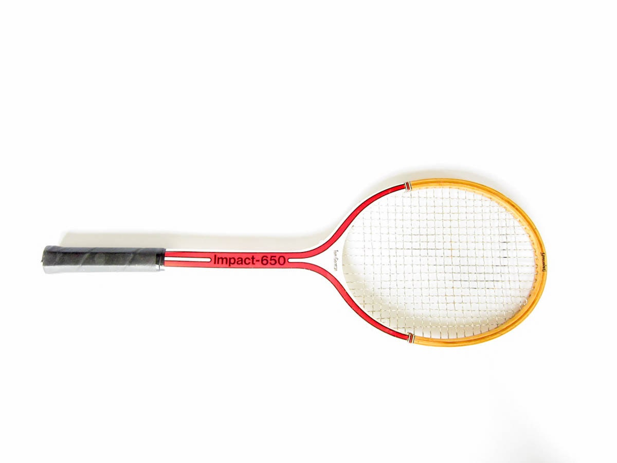 Wood Tennis Racquet