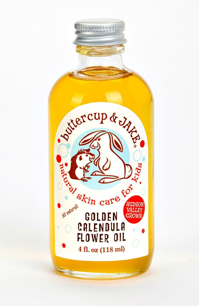 Buttercup & Jake Golden Calendula Oil 4 oz.
