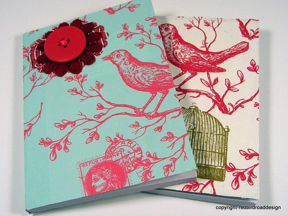 Carte Postale Mini Journal Pair