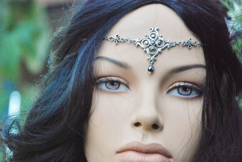 Head Jewelry Headjewelry Head Chain Headchain Head by ...