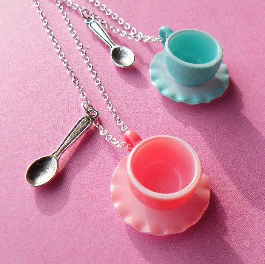 My Little Teacup Necklace