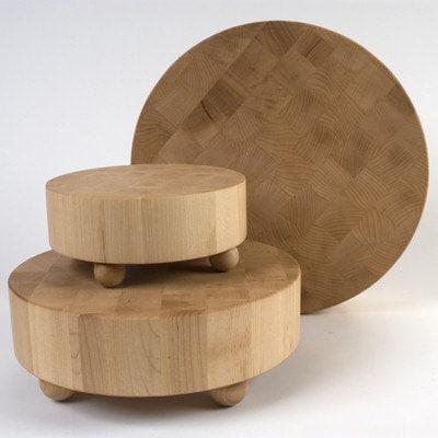 large hard maple butcher block cutting board by