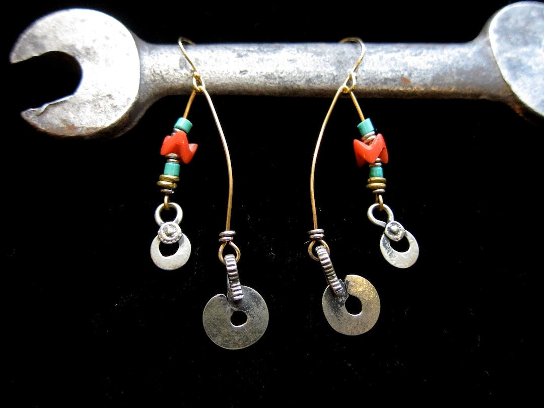 Beaded Mobile Earrings