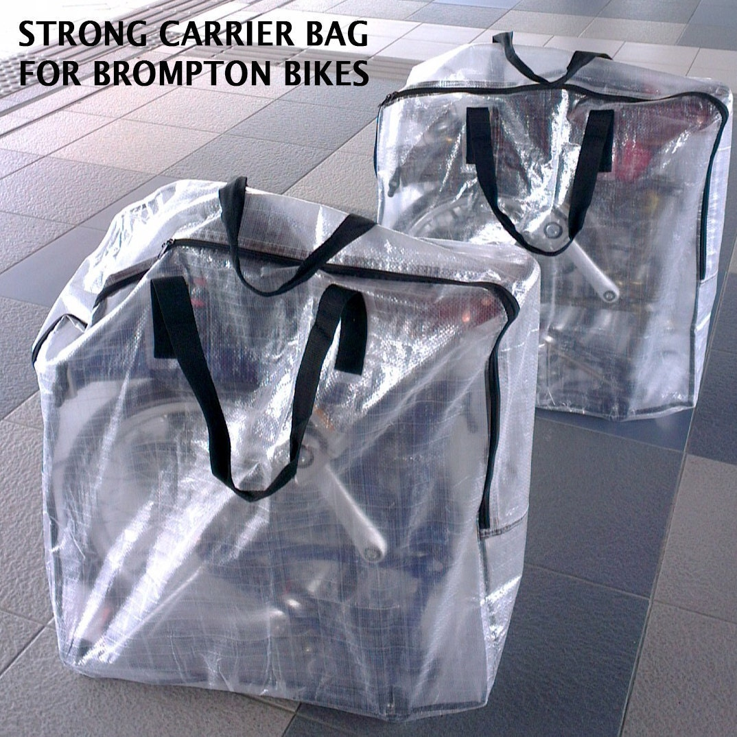 Strong Carrier Bag for Brompton Bicycle Bike Folding Carry Cover Travel Airplane