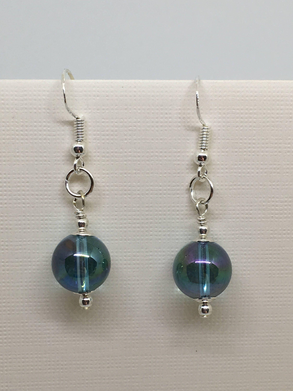 Aquamarine Drop Handmade Earrings