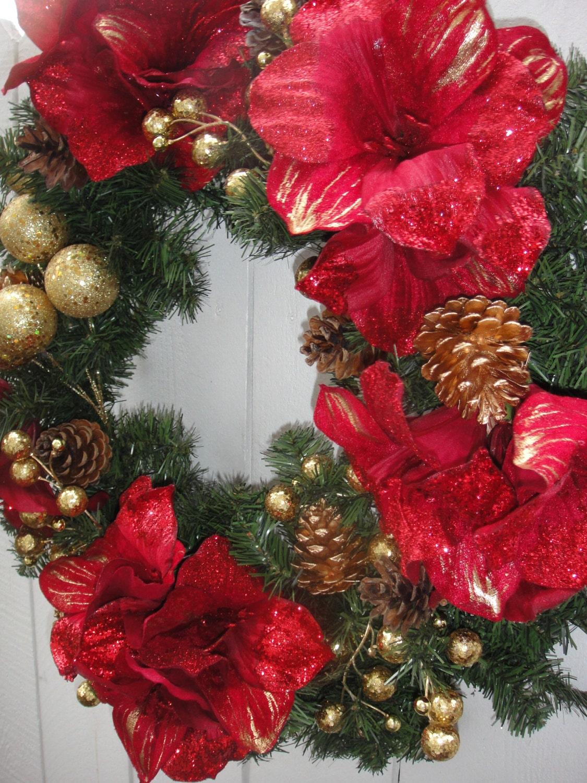 Holiday Wreath Elegant Holiday Wreath Christmas By