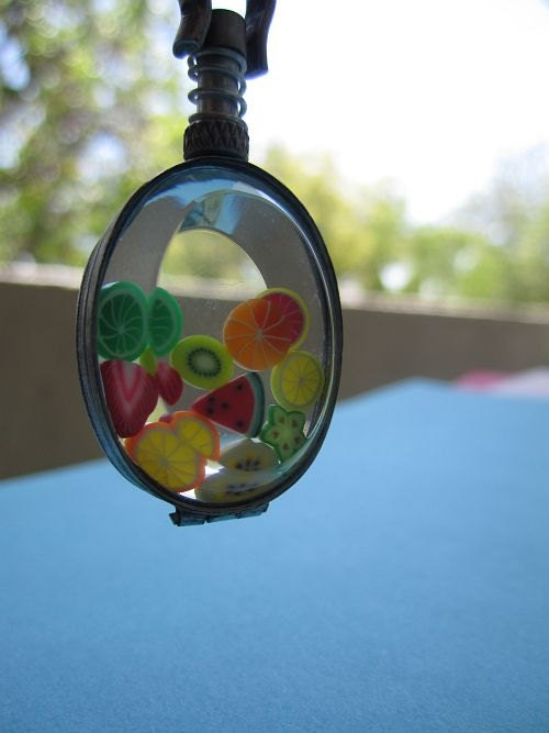 Summer Fruit Necklace