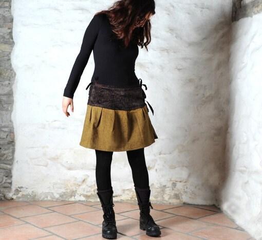 Woolen kimono skirt - sumohandmade
