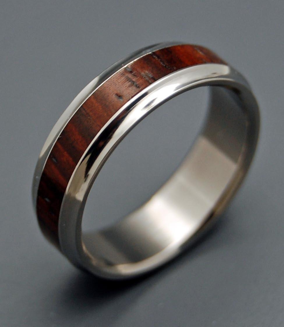 knowing this wooden wedding rings by minterandrichterdes