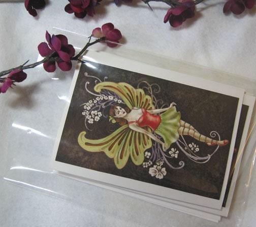 Holiday Fairy Mini 5 Card Set