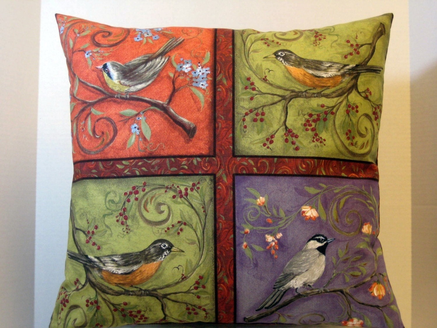 Bird Lovers Pillow