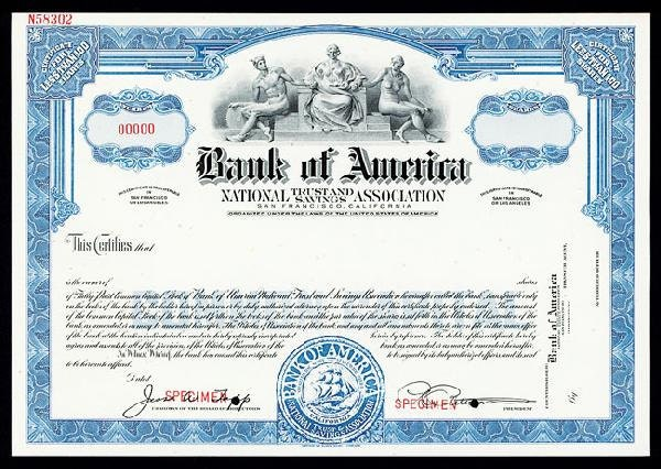 Stock options bank of america