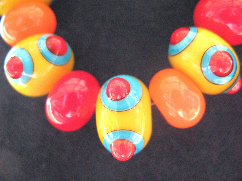 Create Color Magic Lampwork Glass Beads (11)