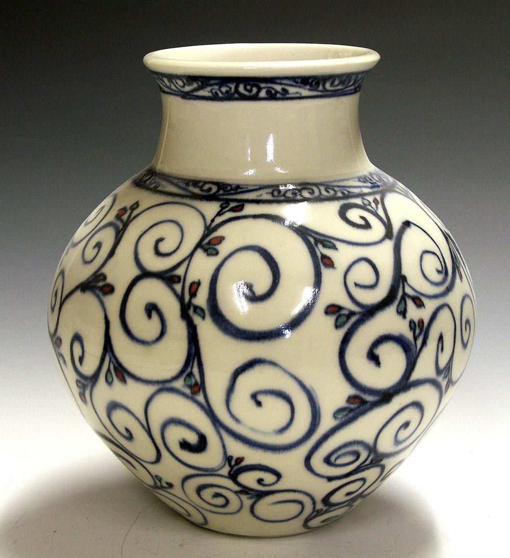 Classic porcelain vase