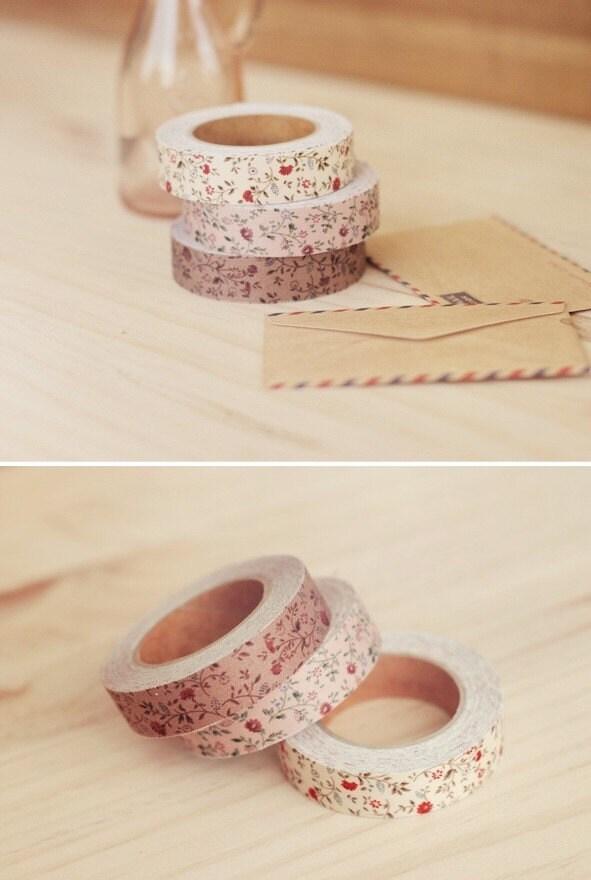 Fabric Tape -Mini mums