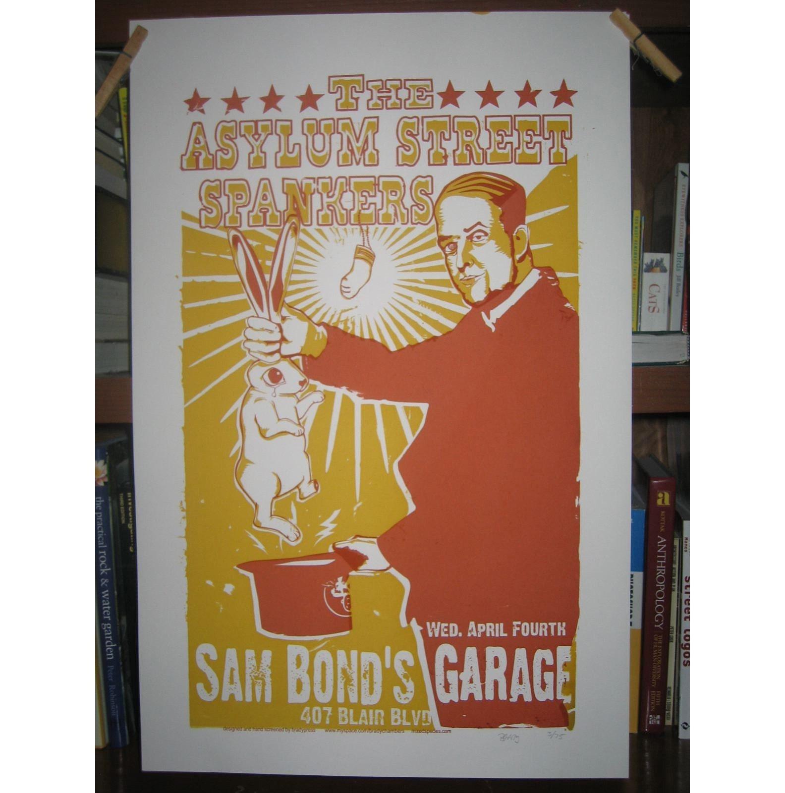 Asylum Street Spankers Rock Poster
