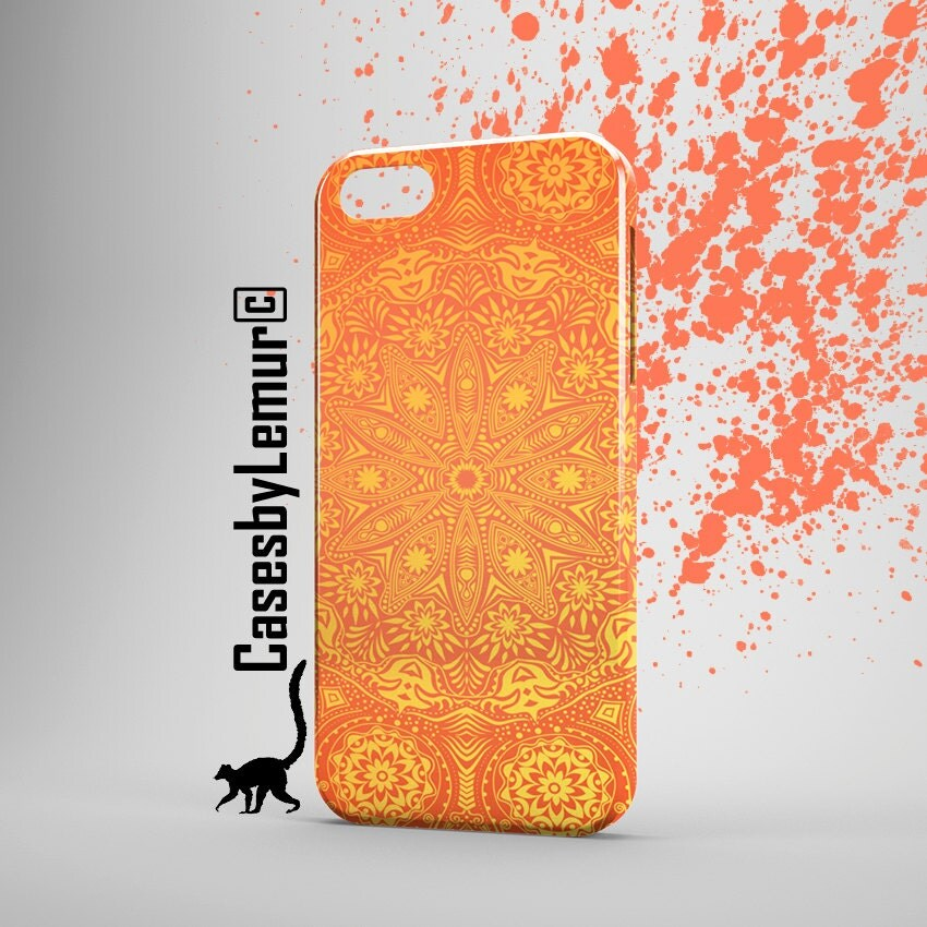 MANDALA ART Iphone 6 Case Mandala Print Iphone 6 Plus Case Indian Print Iphone 5 Case Sun Print Iphone 5C Case Cute Phone Case Designer Case