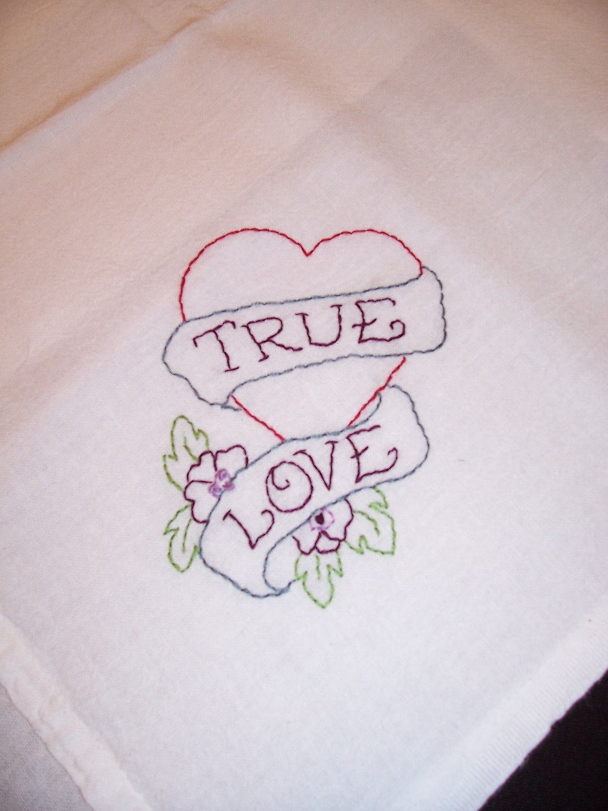 True Love tattoo design Hand