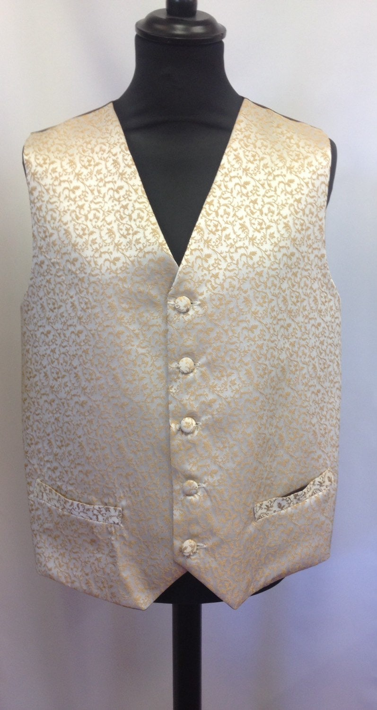 Bamboo silk brocade Waistcoat  4244 Chest.