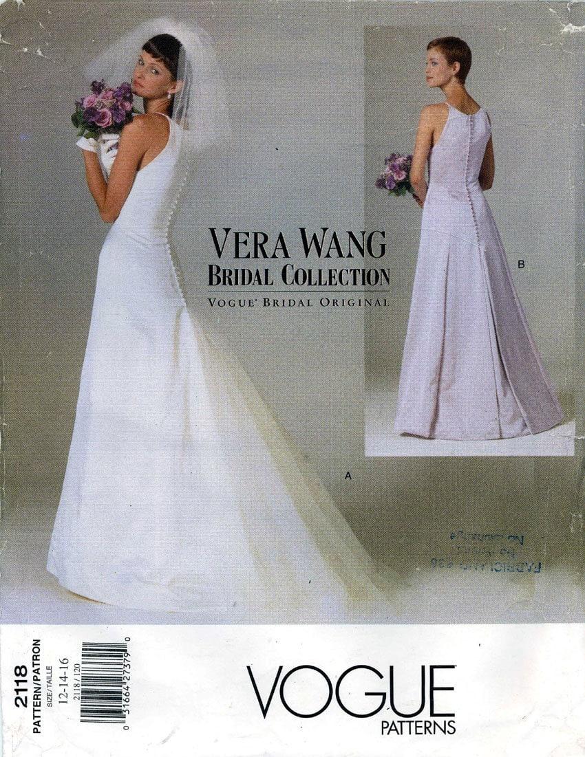 Wedding dress patterns vogue wedding dress patterns simplicity wedding dress patterns vera wang ombrellifo Image collections