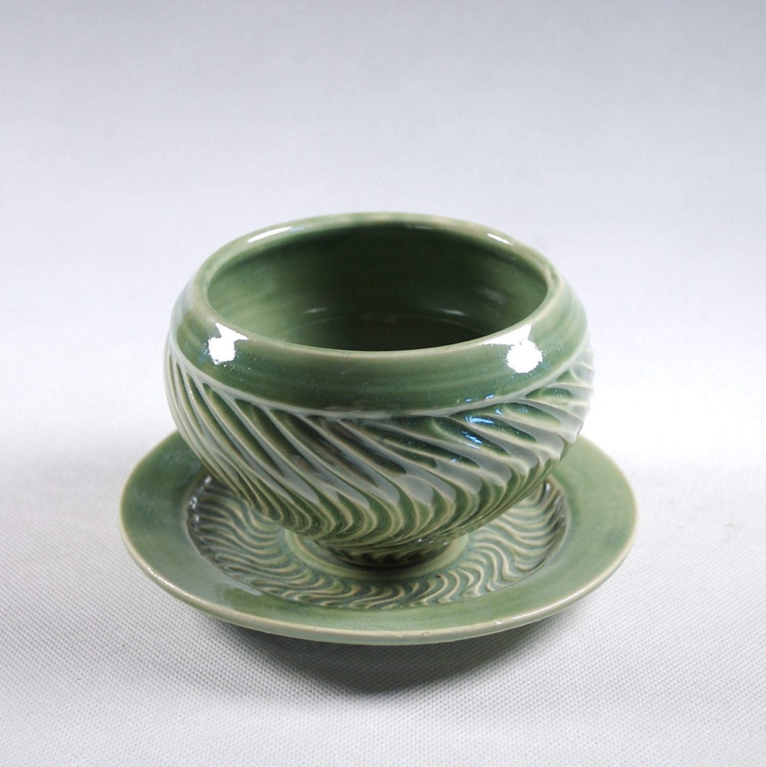 Etsy :: Soup Bowl and Saucer