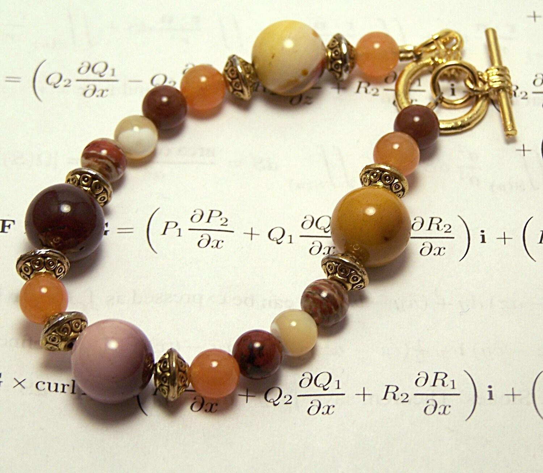 math jewelry mookaite