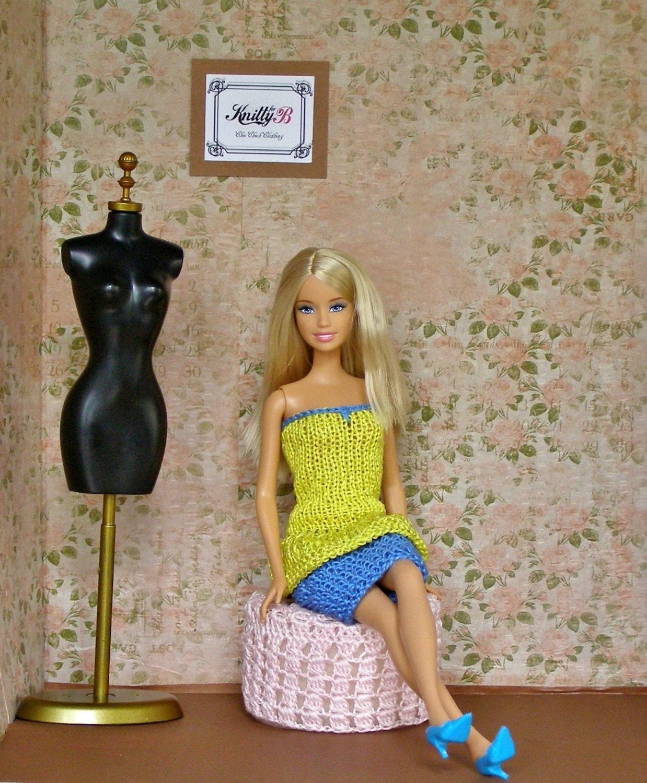 Вязание на спицах барби одежда