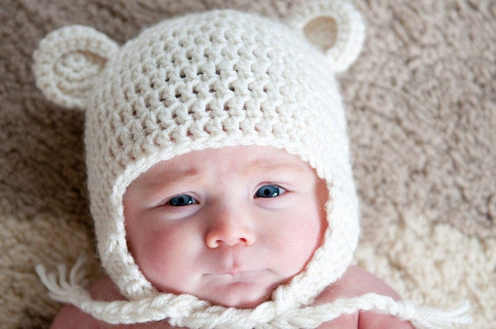 KNIT AND CROCHET INFANT HAT PATTERNS