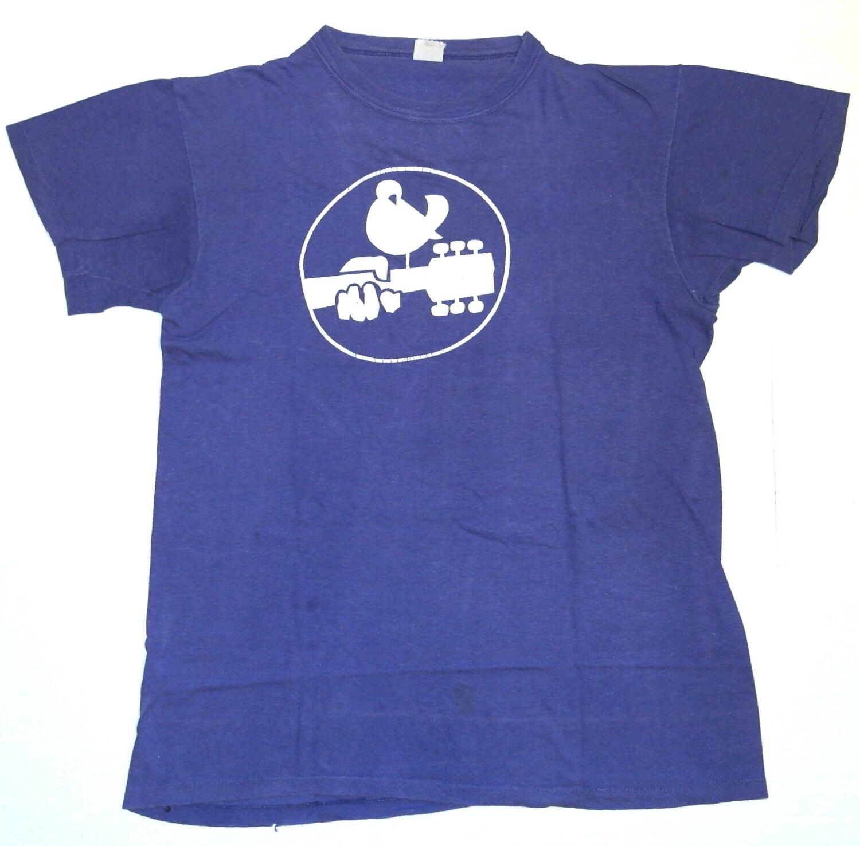 Woodstock T-Shirts Vintage Rock Tee Shirts