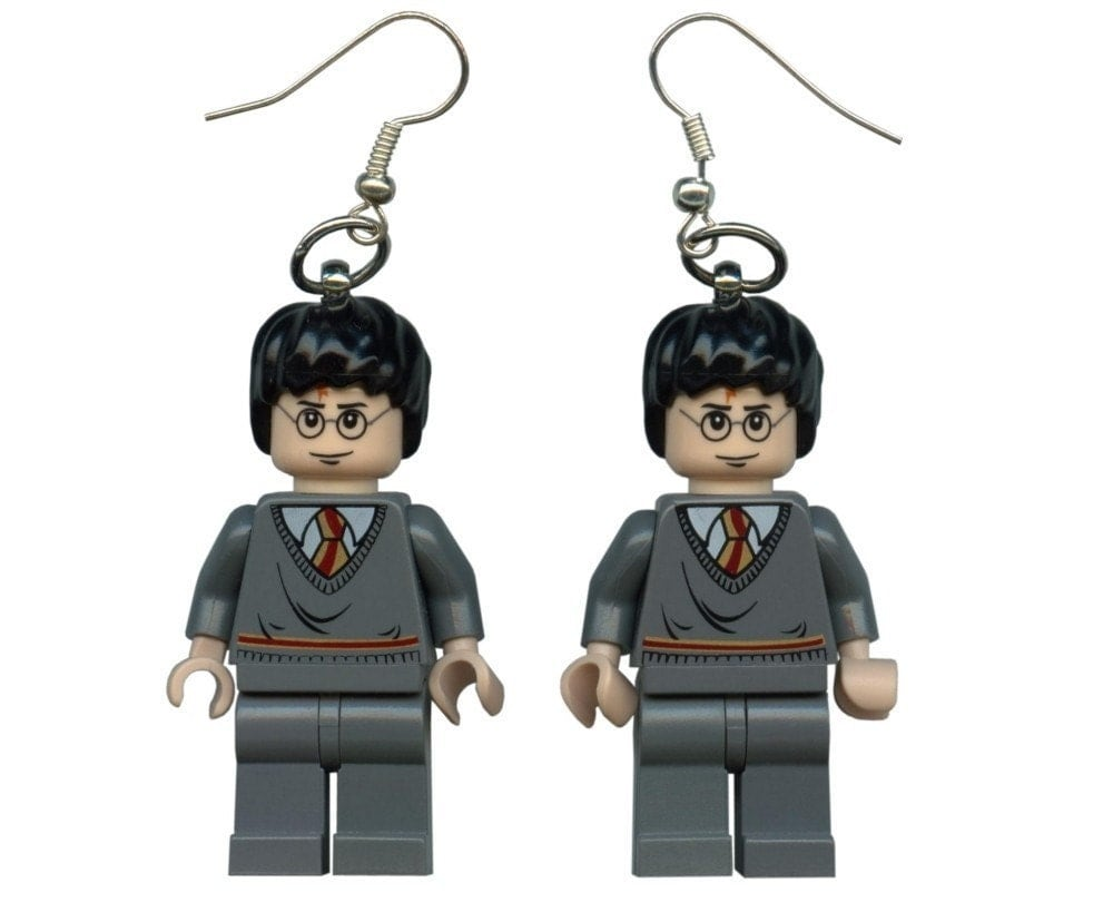 Harry Potter Lego earrings