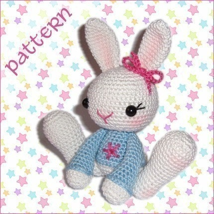 PDF Pattern - Snow Bunny