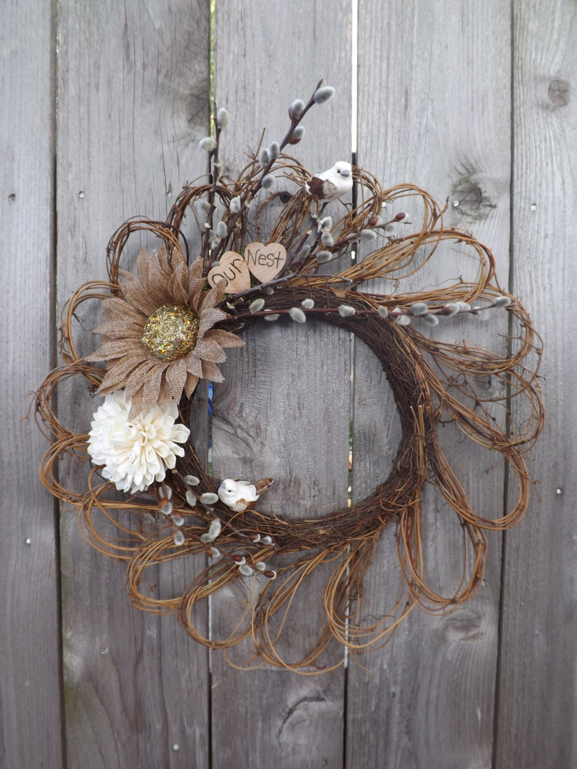 Unavailable listing on etsy How to decorate a wreath