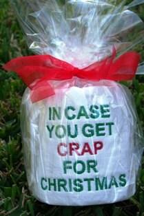 In Case You Get Crap For Christmas By Pfantasyoriginals On