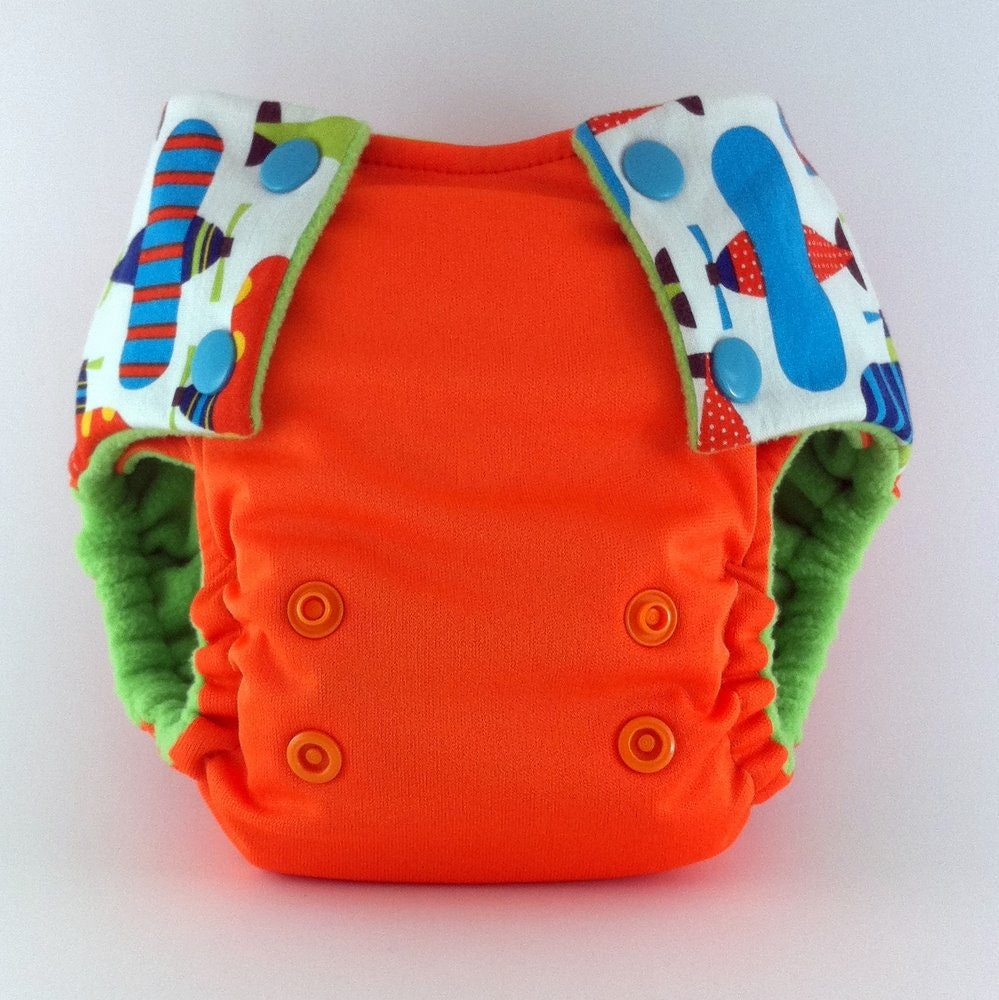 Ready, Set, Go, POCKET DIAPER. Semi Custom, You Pick Colors & Size, ONESIZE available .....Over 12 design options.....Discounted 15%