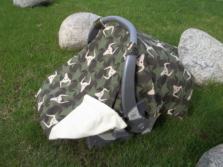 Camo Baby Car Seat Cover
