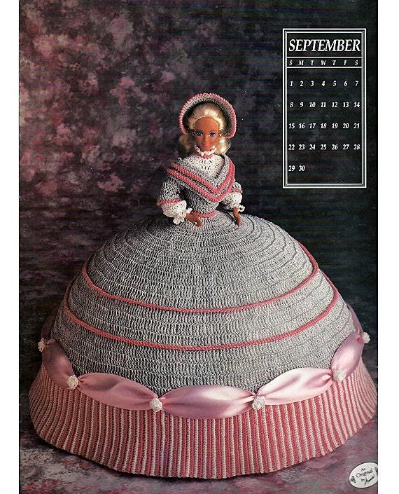Crochet Miss U.S.A Doll Pattern - Vintage Miss USA Crochet Pattern Doll - Crochet Pattern Bookdrawer
