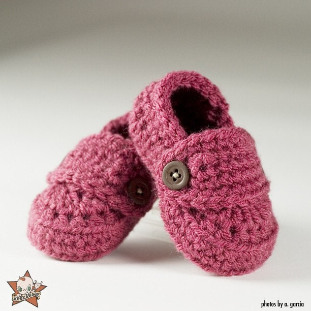 9-12 Months Loafer Booties - You Choose Color