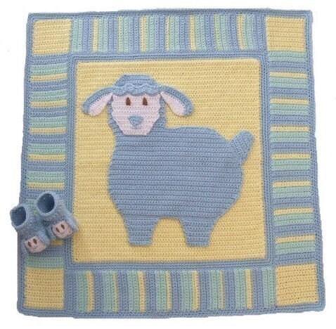 Crochet Baby Blanket and Ball - Martha Stewart Kids' Crafts