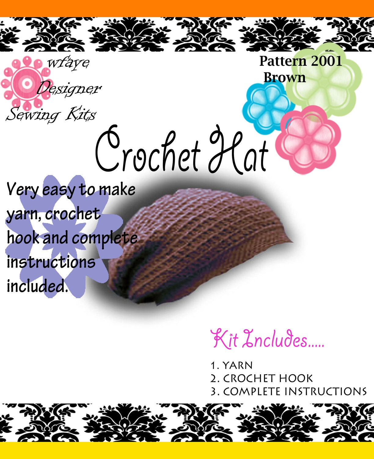 il 170x135.285051414 Etsy Treasury: Fun Crochet Kits