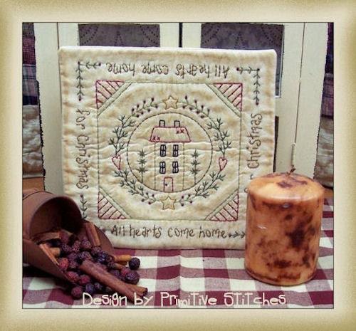 singermard - free primitive christmas stitchery patterns