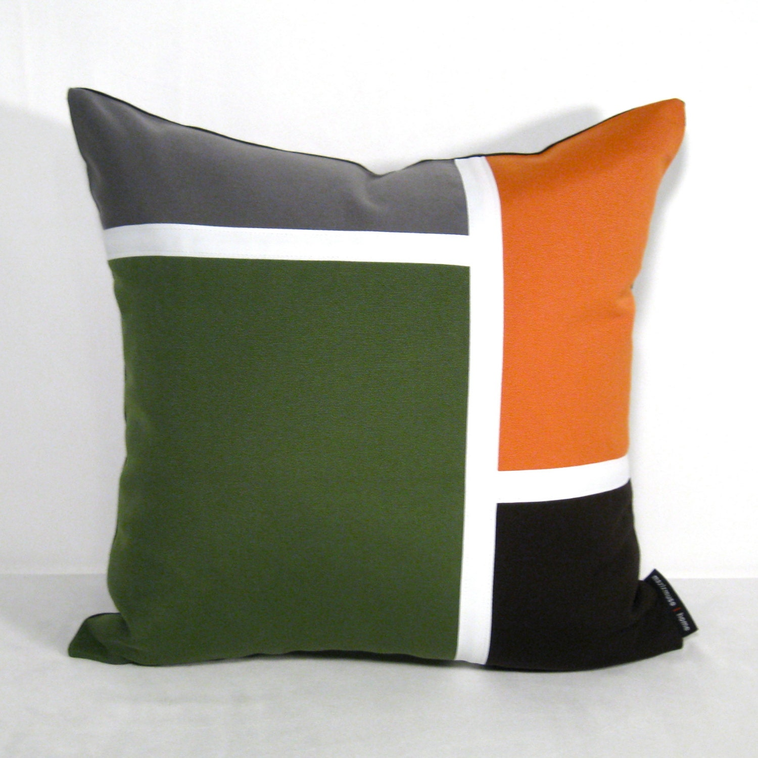 Modern Green Pillow : Unavailable Listing on Etsy