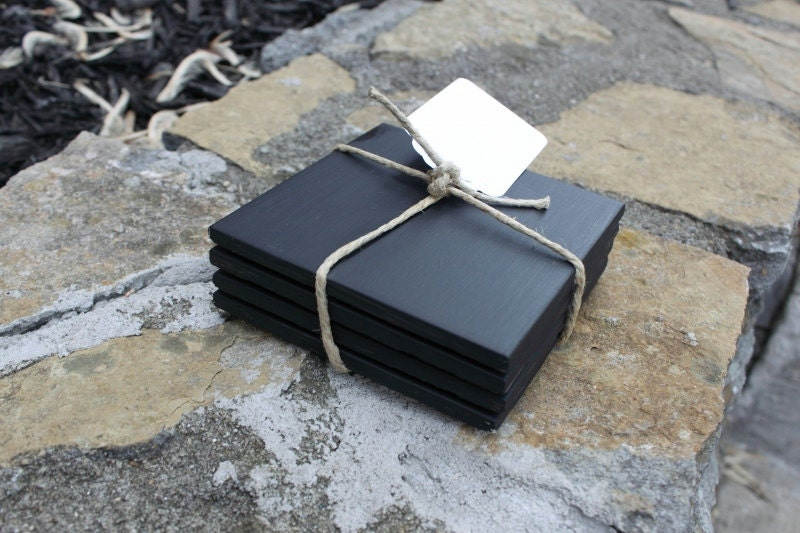 How To Make Ceramic Tile Coasters With Chalkboard Paint